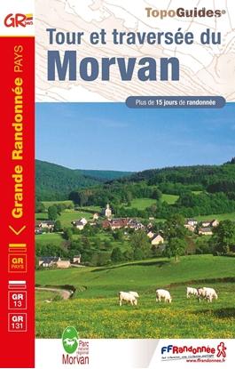 couverture Topoguide tour et traversee du Morvan