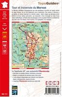 4eme de couverture Topoguide tour et traversee du Morvan