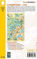 carte des randonnées - Topoguide Franche Comté à pied