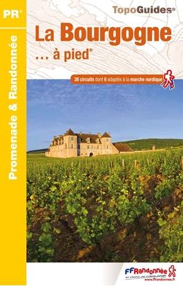 couverture - Topoguide La Bourgogne... à pied®
