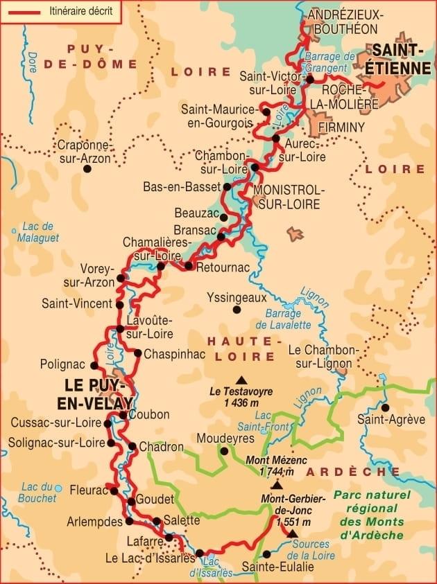 Topoguide Sources et gorges de la Loire