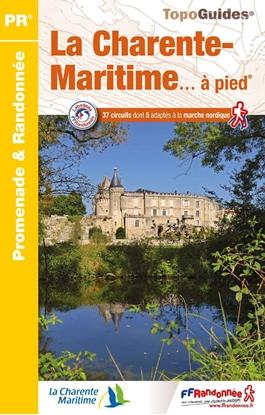 couverture - Topoguide la Charente-Maritime... à pied