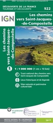Image-Les Chemins Vers Saint-Jacques-De-Compostelle