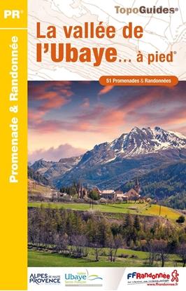couverture Topoguide La vallée de l'Ubaye... à pied®