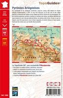 4 ème de couverture Topoguide Pyrénées Ariégeoises - GR®10