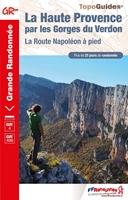 Topoguide La Haute Provence par les Gorges du Verdon