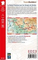 résumé - Topoguide La Haute Provence par les Gorges du Verdon