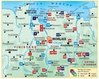 carte Le Pays De Morlaix... À Pied®