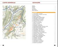 plan et liste randonnée Massif du belledonne-Glenat
