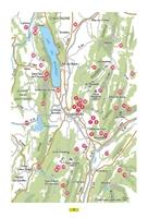 carte des randonnées -  Autour De Chambéry Aix-Les-Bains