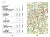 carte et liste des randonnées Vercors - le P'tit Crapahut