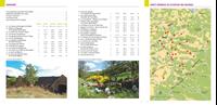 carte et listes de randonnées - En lozère