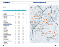 carte et liste randonnées Raquettes Chartreuse-Belledonne