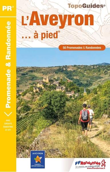 Topoguide l'Aveyron à pied PR