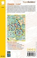 4ème de couverture l'Aveyron à pied - topoguide