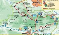 topoguide - PNR de la Montagne de Reims