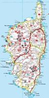 Corse - Les plus belles randonnées entre mer et montagne-Carte