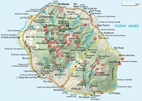 La Réunion - Rother-carte