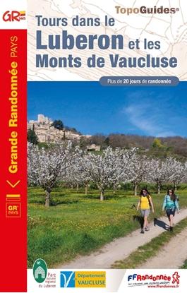 Tours dans le Luberon et les Monts de Vaucluse.- couverture