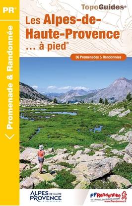 Topoguide les Alpes de Haute Provence - couverture
