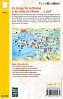 Carte La presqu'île de Crozon et la Vallée de l'Aulne... À pied