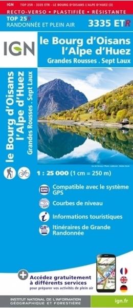 Image Le Bourg-d'Oisans - l'Alpe d'Huez - Grandes Rousses - Sept Laux - RESISTANTE - 3335ETR