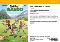 Image Les Fondus de la Rando - Tome 01- texte