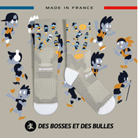 Image-Chaussettes TRAIL ULTRA gris - Collector DBDB2