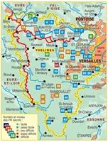 carte les Yvelines à pied
