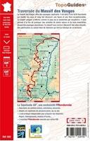 4ème de couverture -  Traversée des Vosges - ref 502
